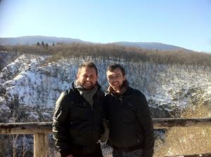 Tour guides extraordinaire Dejan & Ivica